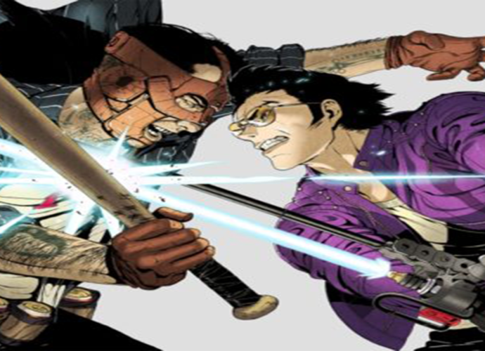 Image de Travis Touchdown dans Travis Strikes Back