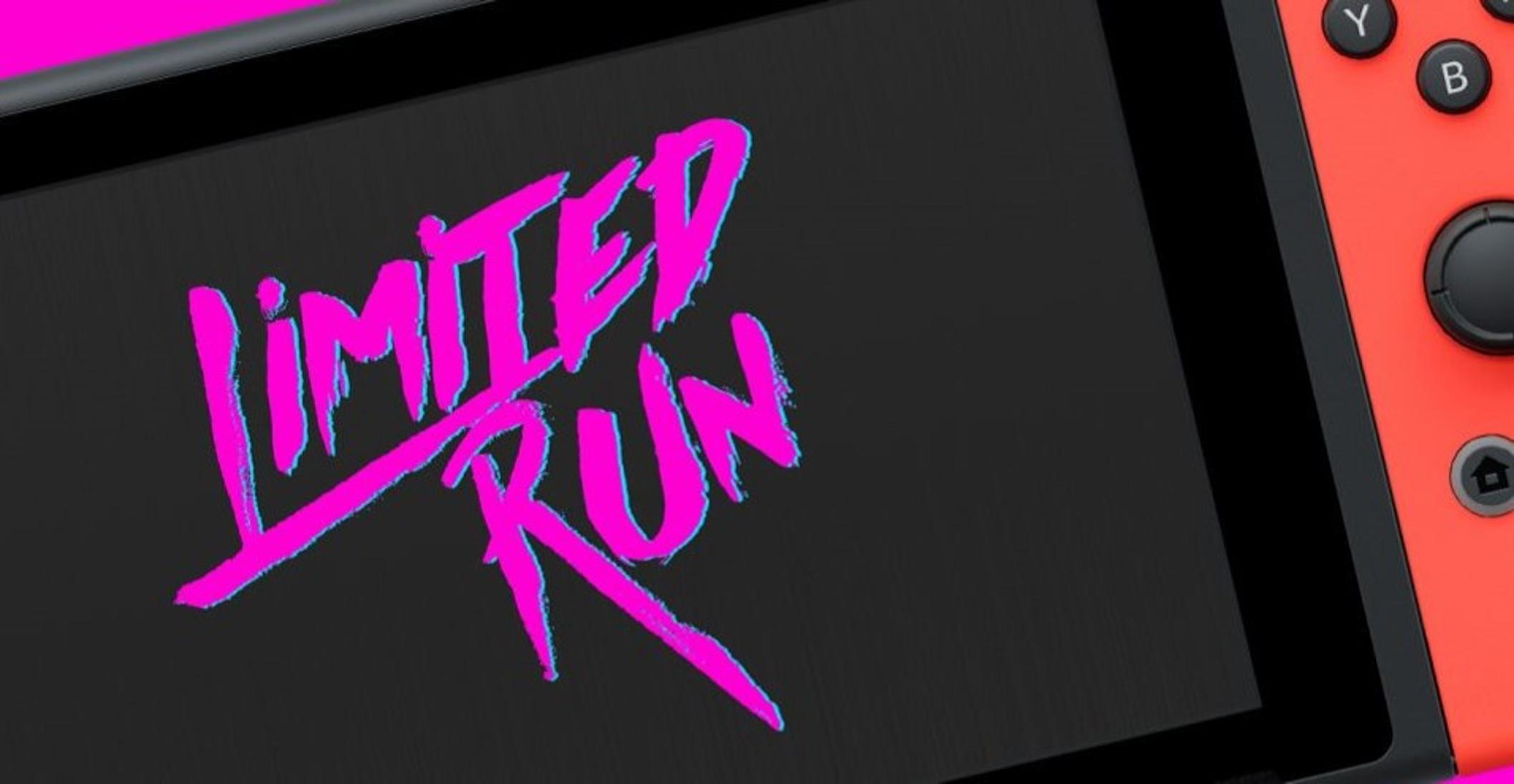 Limited Run Games annonce ses jeux à l'E3